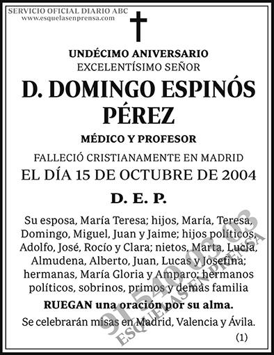 Domingo Espinós Pérez